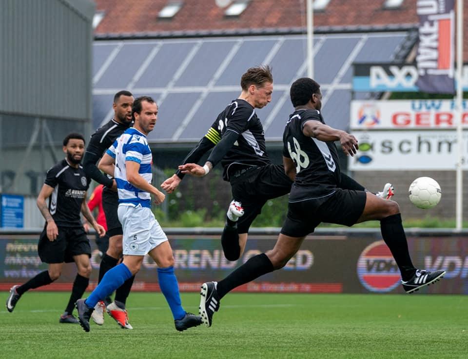 VV Maarssen 1 oefent met vernieuwde selectie tegen Spakenburg