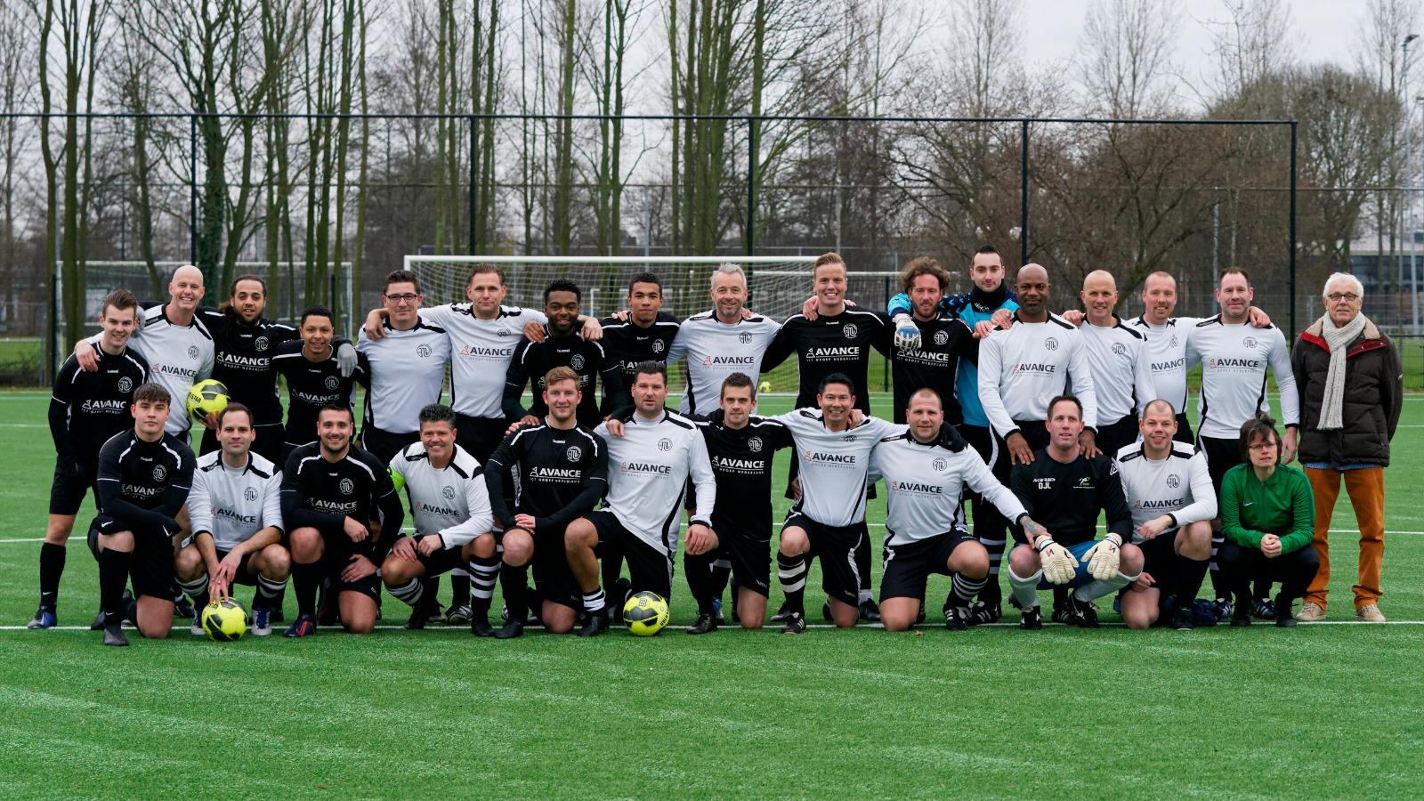 Oud-VV Maarssen oefent tegen veteranen Sparta Rotterdam