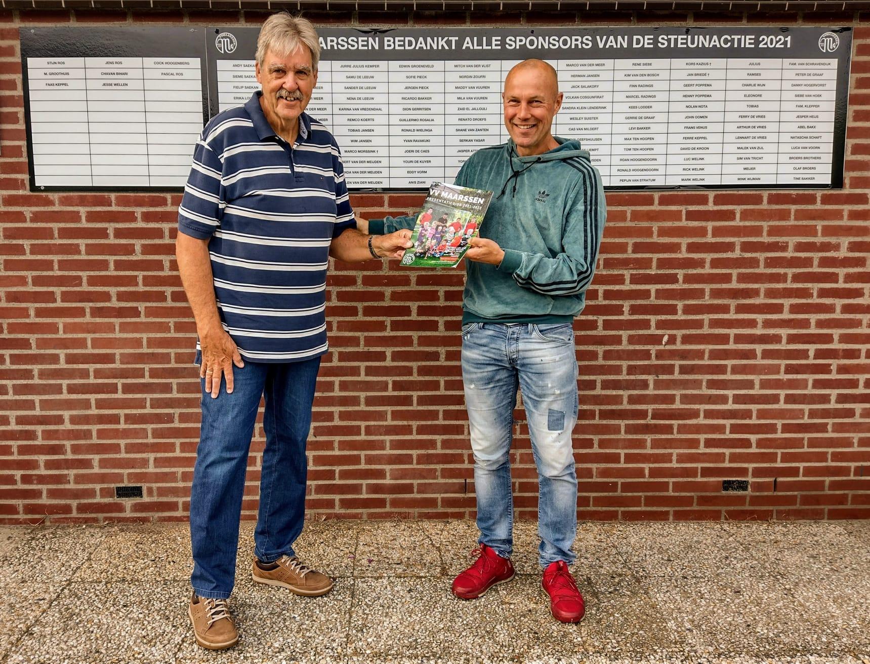Presentatiegids VV Maarssen 2021-2022 uitgebracht