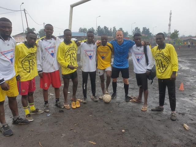 VV Maarssen in Congo