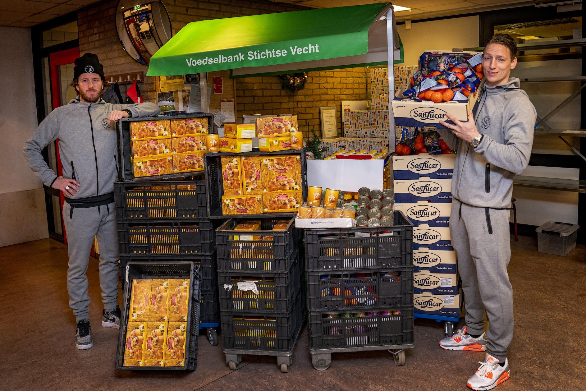 VV Maarssen steunt Voedselbank